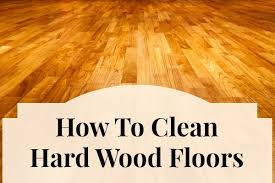 how to clean wood floors home ec 101