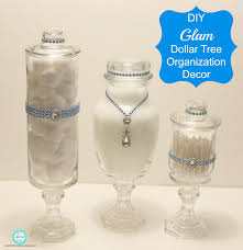Dollar Tree Decorating Ideas Ria U0027s World Of Ideas Diy Glam Dollar Tree Organization Decor