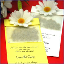 wedding seed packets seed favors wedding seed packets favors