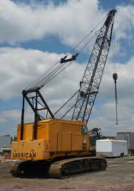 1970 american 599 40 ton lattice boom crawler crane item g