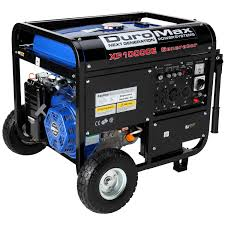duromax 10000 watt 18hp portable gas electric start generator rv