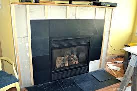 slate fireplace mantel shelves hearth cleaning surround ireland