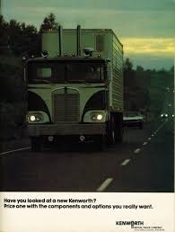 kenworth price photo may 1973 kenworth coe ad 05 overdrive magazine may 1973