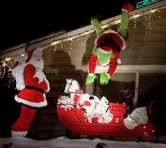 the grinch christmas lights christmas lighting contest winners gallery