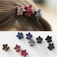 1 bag korea hair accessories hairpin small flowers gripper