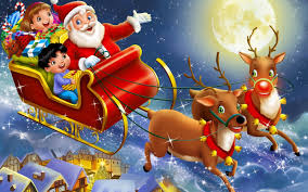 santa reindeer wallpapers u2013 high quality hd quality backgrounds