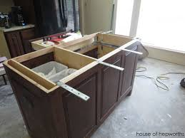 Kitchen Island With Granite Countertop The Making Of A Kitchen Island