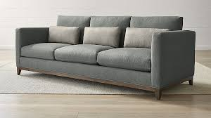 image of sofa sofas couches and loveseats crate and barrel