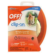 off clip on mosquito repellent 0 0016 ounces walmart com