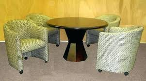 kitchen table and chairs with casters table and chairs with casters remarkable oak dining chairs with