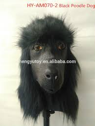 halloween dog mask wholesale latex caniche costume halloween animal head realistic
