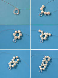 make beaded bracelet wire images Elegant jewelry beads and accessories diy flower and pearl beads jpg