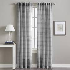 Walmart Sheer Curtain Panels Backtab Curtain Panel Walmart Front