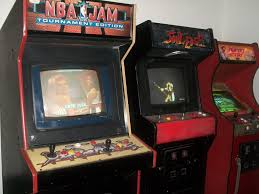 Nba Jam Cabinet What Video Game Systems Do You Own Live Audio Wrestling