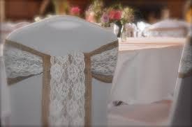 burlap chair sashes wedding ideas lace chair sashes event decor wedding