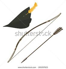 How To Make A Robin Hat Out Of Paper - green robin hat feather bow stock vector 285297623