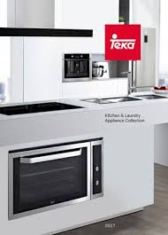 kitchen collections appliances small teka kitchen laundry appliance collection 2017 by residentia
