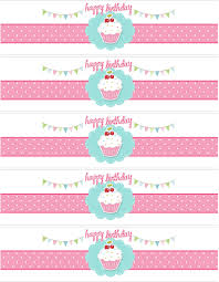 cupcake themed birthday party with free printables themed