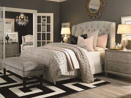 Bassett Bedroom Furniture Bassett Custom Upholstered Beds Paris King Size Upholstered Bed