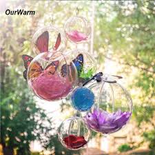 buy ornament clear plastic and get free shipping on aliexpress com