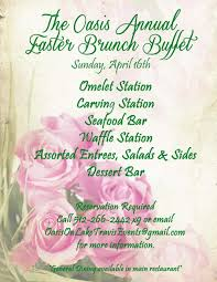 Easter Brunch Buffet Menu by Dining Out With Rob Balon Best Spots For Easter Sunday Brunch In