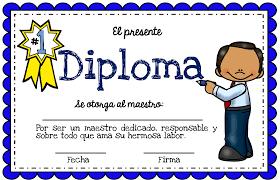 diplomas de primaria descargar diplomas de primaria excelentes diplomas del día del maestro material educativo