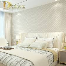aliexpress com buy modern simple 3d mosaic plaid wallpaper for