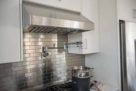 mirror tile backsplash kitchen recycled countertops stainless steel kitchen backsplash polished
