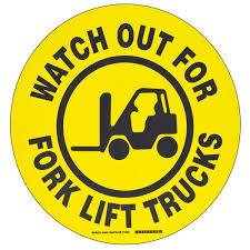 brady forklift and warehouse traffic signs bradyid com