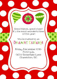 invitations for christmas party cimvitation