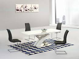 Gloss Dining Tables Chair Extending Dining Table And Chairs High Gloss White