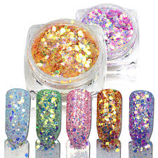 popular color dust nails buy cheap color dust nails lots from