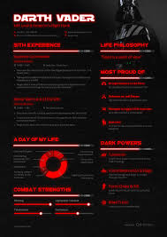 Resume Look Like What Darth Vader U0027s Résumé Would Be Business Insider