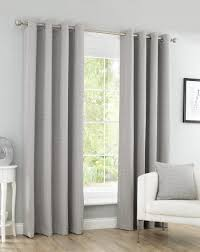 Grey Herringbone Curtains Curtains Accessories Herringbone Eyelet Readymade Curtains Grey