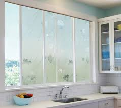 shis window with elegant artscape window film in stripped motif