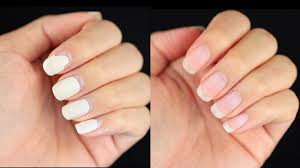 damage free way to remove gel nails at home youtube