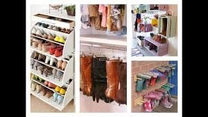 best shoe storage ideas home organization tips youtube