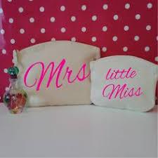 Bride Makeup Bag Wedding Day Prep Kit Custom Makeup Bag With Date Bridal Cosmetic