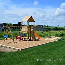 Backyard Playground Slides by Diy Backyard Playground How To Create A Park For Kids
