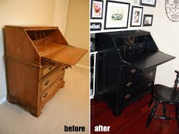 how to refinish a desk secretary desk refinished a steed s life