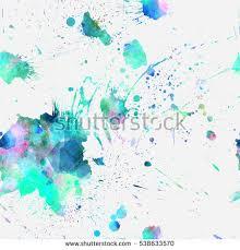 hand drawn splatter background texture vector stock vector