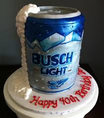 beer can cake busch light can cakecentral com