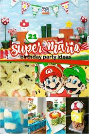 mario birthday party 21 mario brothers party ideas spaceships and laser beams