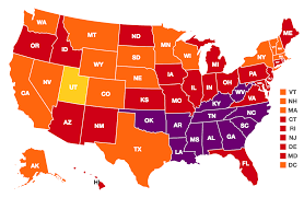 Map Of The United States In Color by Obesity Rates U0026 Trends The State Of Obesity