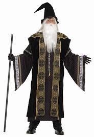 deluxe wizard costume halloween costumes