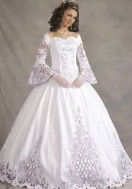 wedding dresses canada celtic gown wedding dresses sleeves canada
