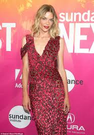 jaime king dazzles sundance next fest in pink pencil dress daily