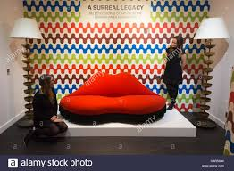 a surreal legacy mae west lips sofa by salvador dali and edward