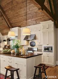 vaulted kitchen ceiling ideas 15 rustic kitchen cabinets designs ideas with photo gallery
