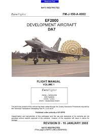eurofighter typhoon flight manuals